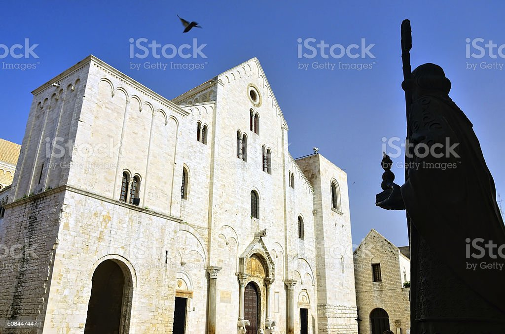 Basilica of Saint Nicholas, Bari stock photo