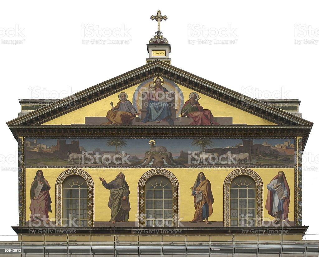 Basilica of Saint Paul Outside the Walls royalty-free stock photo