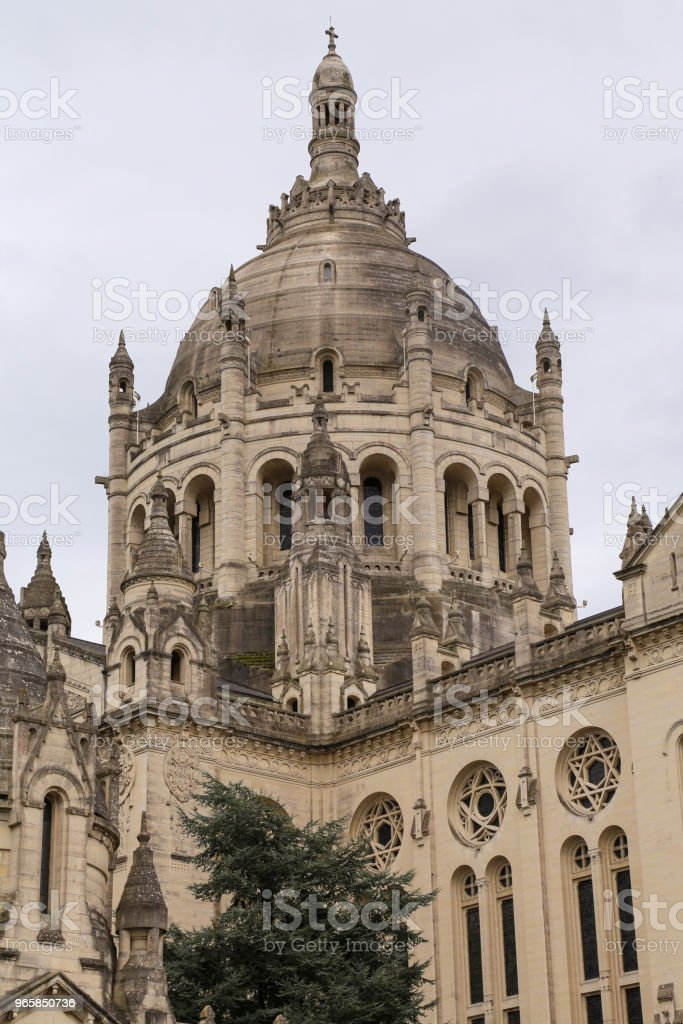 Basilica of Saint Therese Lisieux - Стоковые фото Архитектура роялти-фри
