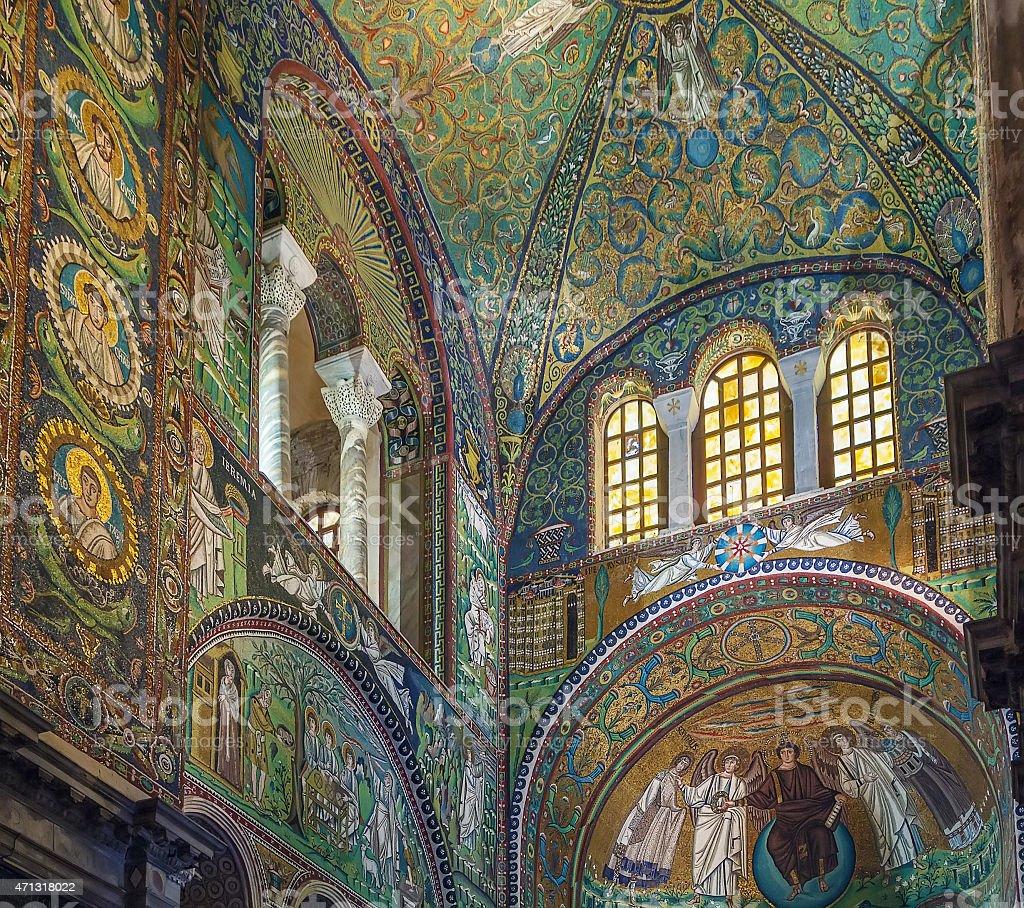Mosaico San Vital De Ravena San Vitale Ravenna T