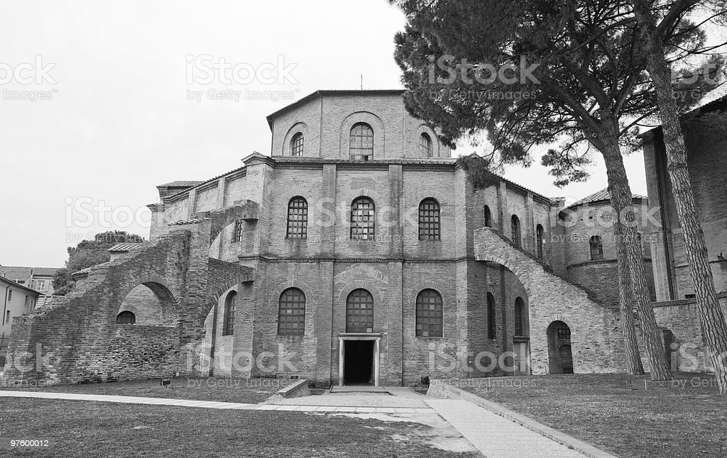 Basilica di San Vitale, Ravenna royalty-free stock photo