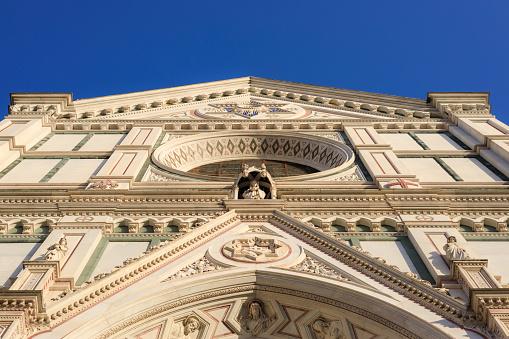 Basilica di Santa Croce upper detail