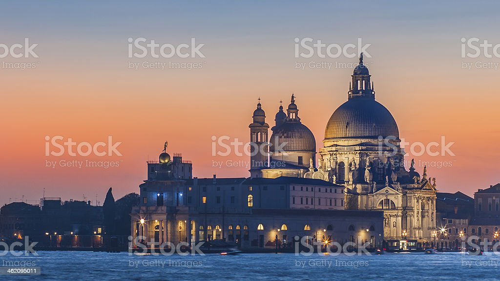 Basilica of Santa Maria della Salute, Venice royalty-free stock photo