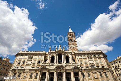 istock Basilica Of Santa Maria Maggiore In Rome 183267874