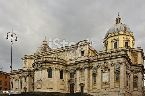 istock Basilica of Santa Maria Maggiore 1202821251