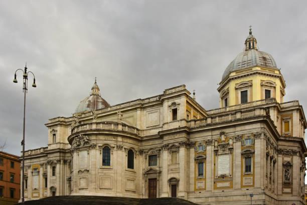 Basilica of Santa Maria Maggiore stock photo
