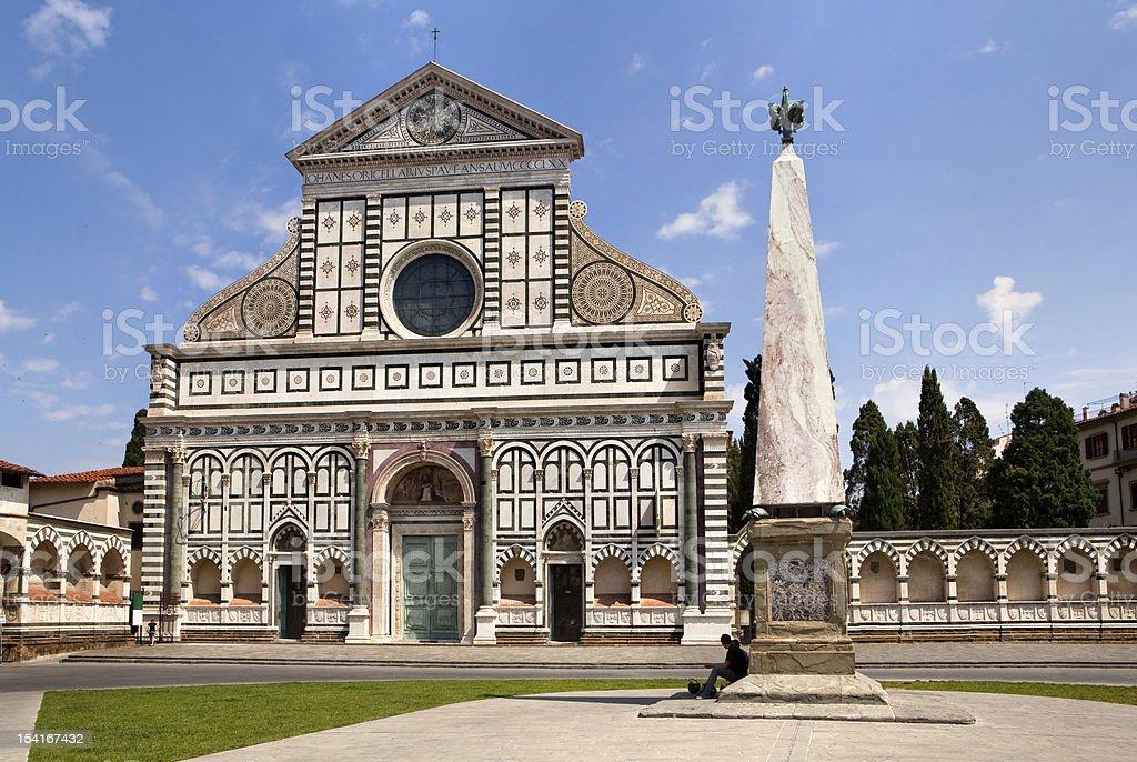 Basilica of Santa Maria Novella royalty-free stock photo
