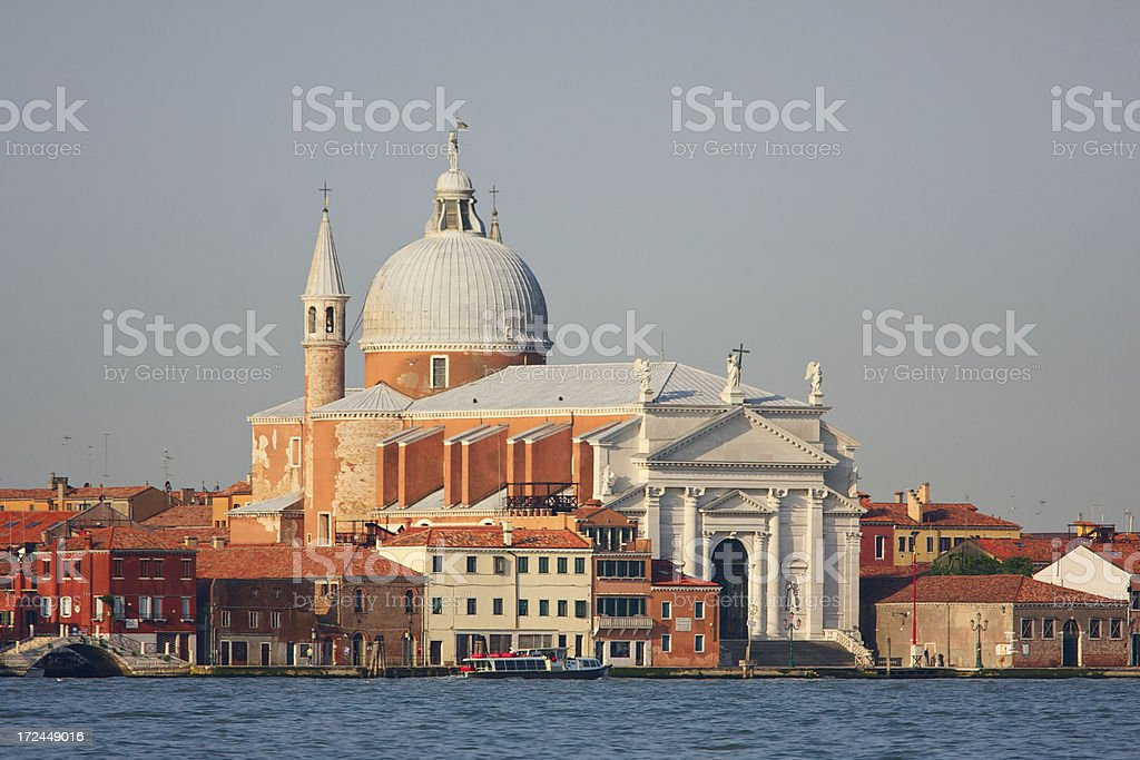 Basilica of Santissimo Redentore. Venice. Italy. stock photo