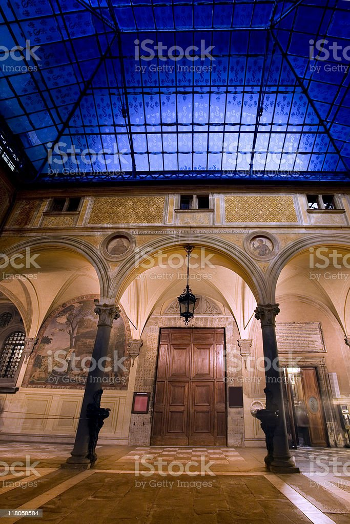 Basilica della SS Annunziata royalty-free stock photo