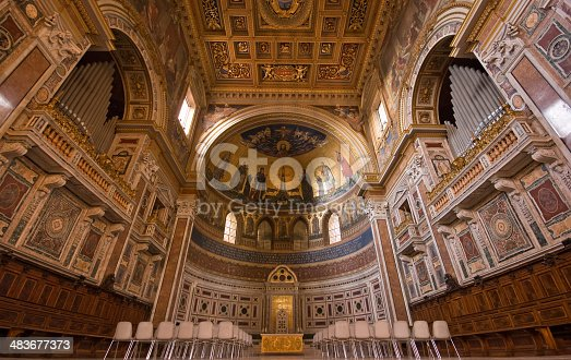 The Basilica of St. John Lateran (Italian: Basilica di San Giovanni in Laterano) is the cathedral of the Church of Rome, Italy, and the official ecclesiastical seat of the Bishop of Rome, who is the Pope. Officially named Archibasilica Sanctissimi Salvatoris et Sancti Iohannes Baptista et Evangelista in Laterano (English: Archbasilica of the Most Holy Saviour and Sts. John the Baptist and the Evangelist at the Lateran