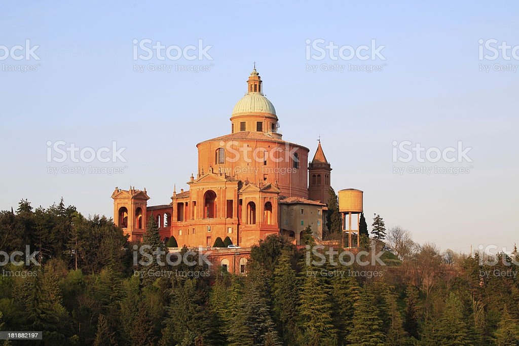 Basilica S. Luca royalty-free stock photo