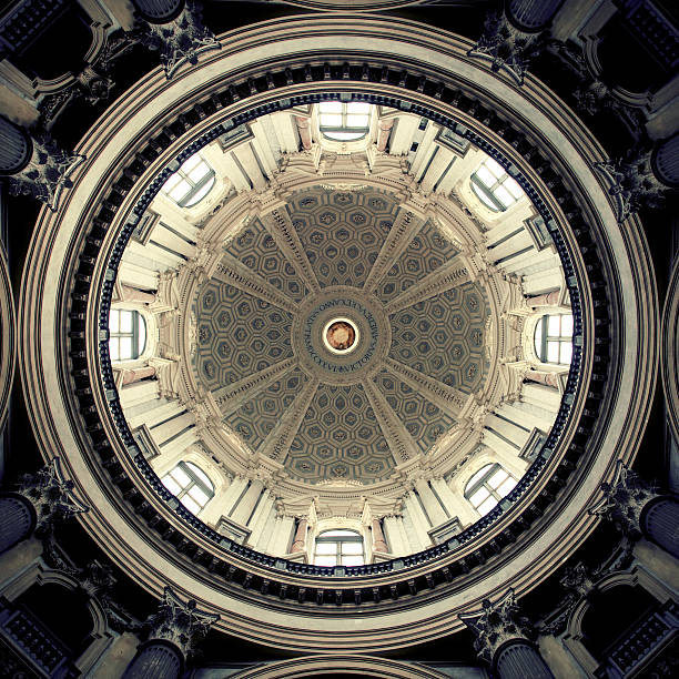 Basilica of Superga Interior dome of Basilica di Superga. Turin, Italy.http://www.massimomerlini.it/is/turin.jpg cupola stock pictures, royalty-free photos & images