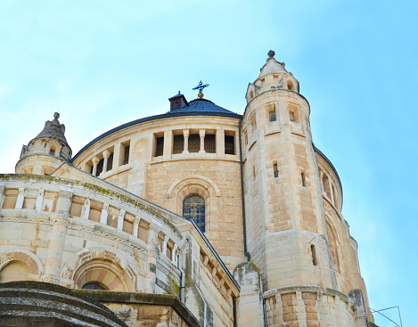 Basilica of the Annunciation. This church was built on the site where according to tradition, the Annunciation took place. Nazareth, Israel