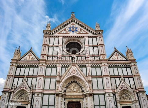 Basilica of the Holy Cross (Santa Croce), Florence, Italy