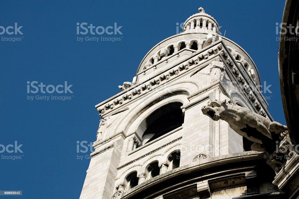 Basilica of the Sacré Cœur, Montmartre, Paris royalty-free stock photo