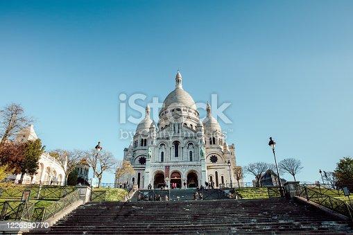 View Of Basilique Du Sacre Coeur, Paris, France