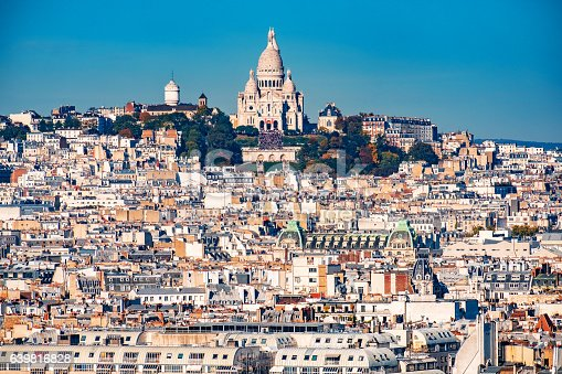 Basilique Du Sacre Coeur, Montmartre, Paris - France