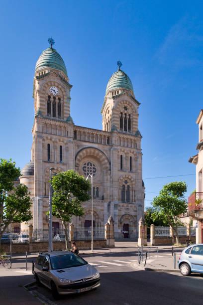 Basilica of the Sacred Heart of Nancy stock photo