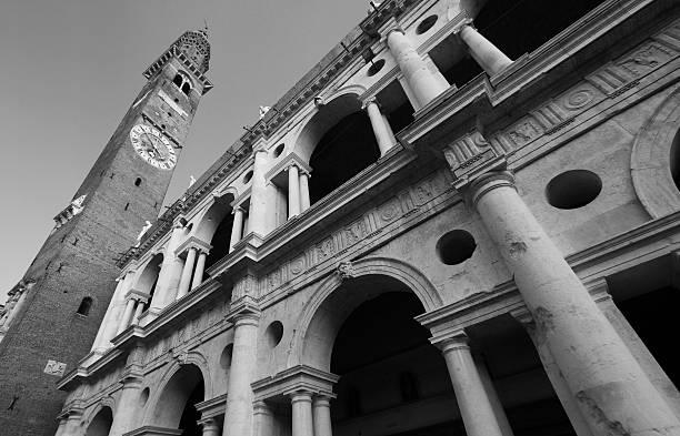 palladiana-basilika - vicenza stock-fotos und bilder