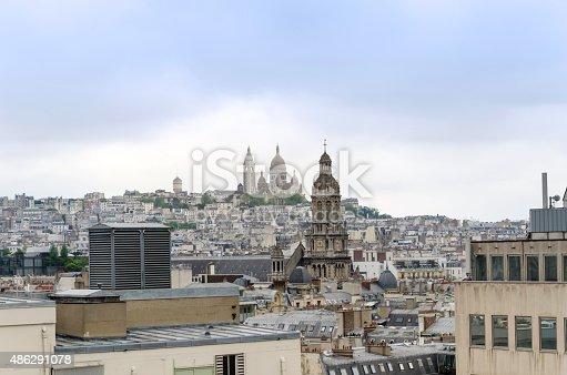 Basilica sacre coeur in Montmartre, Paris, France