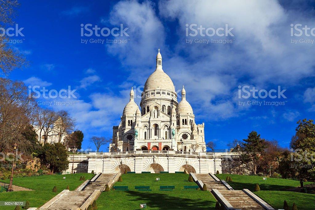Basilica Sacre Coeur stock photo