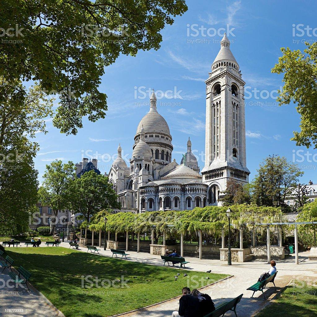 Basilica Sacre-Coeur stock photo