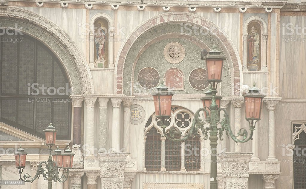 Basilica san Marco royalty-free stock photo