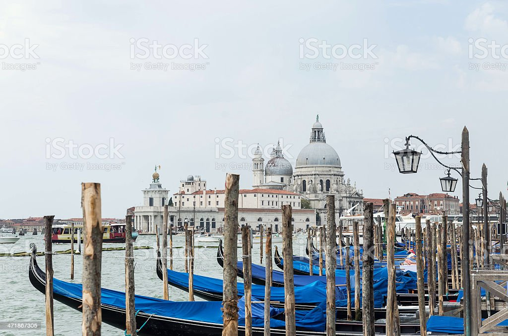 Basilica Santa Maria Della Salute royalty-free stock photo