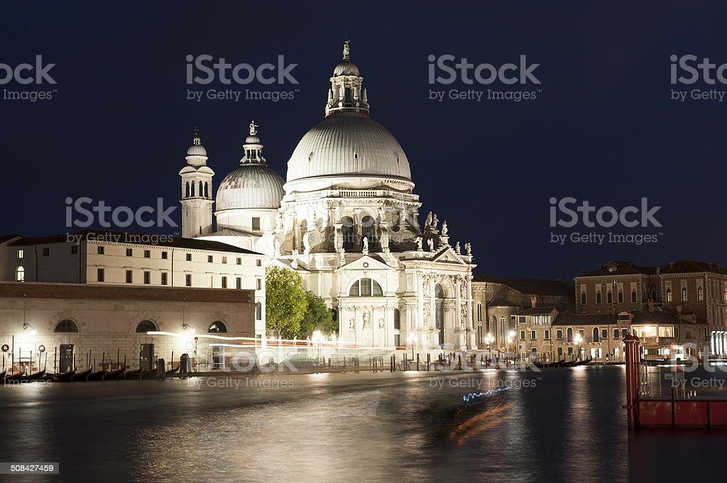 Basilica Santa Maria della Salute, Venice royalty-free stock photo
