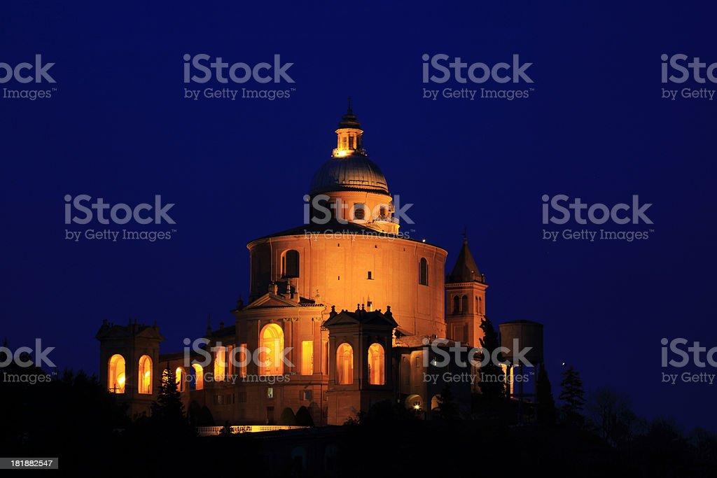 Basilica St Luke stock photo