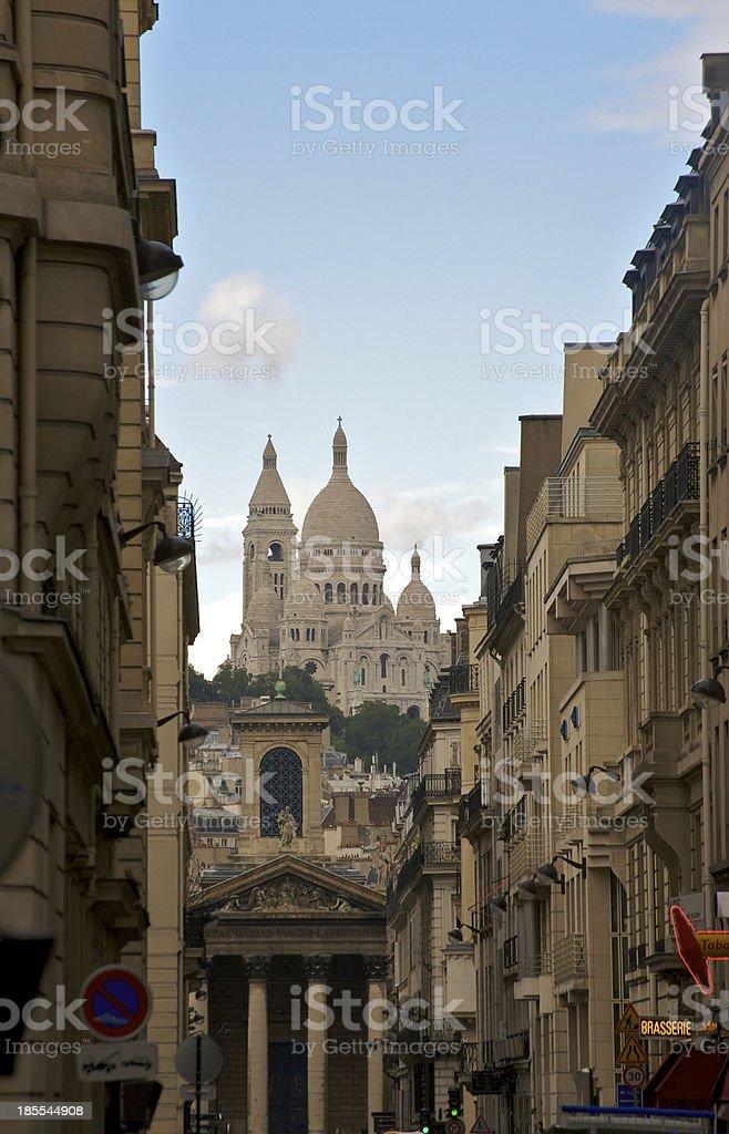 Basilica the Sacred Heart of Jesus stock photo