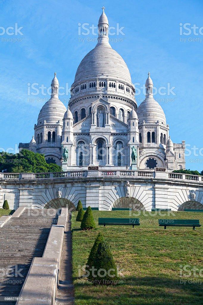 Basilique Du Sacré-Coeur in Paris stock photo