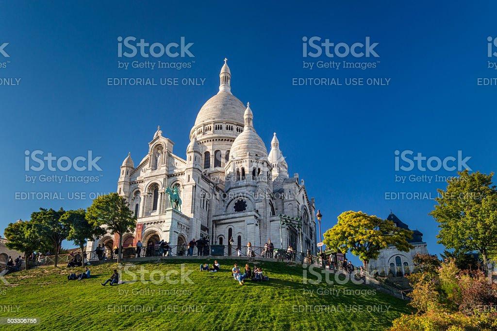 Basilique Du Sacré Coeur, Montmartre, à Paris, France - Photo
