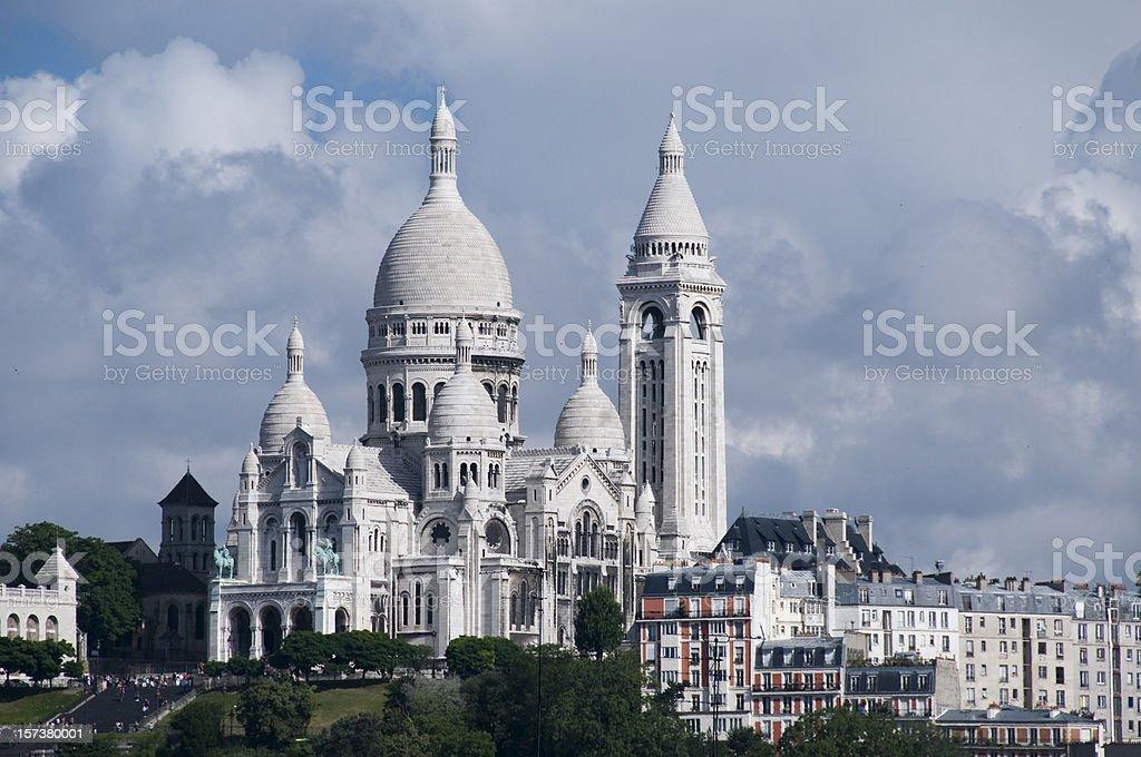 Basilique Du Sacre Coeur stock photo