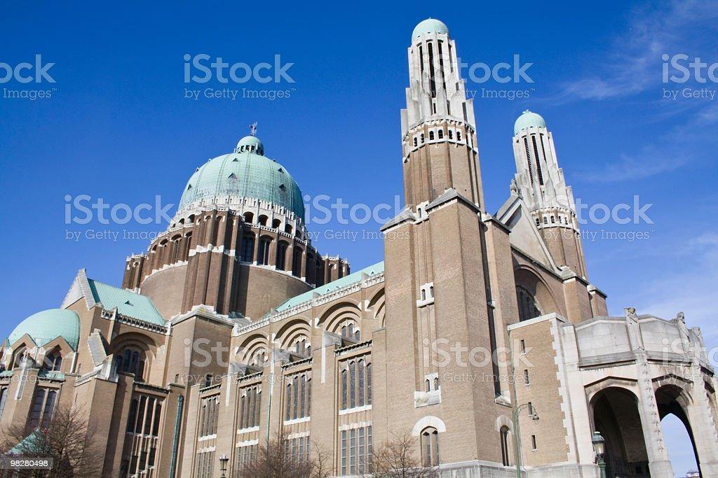 Basilique Nationale du Sacré-Cœur royalty-free stock photo