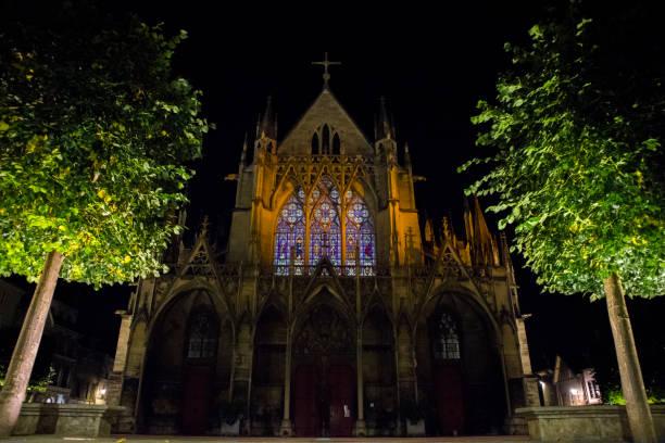 Basilique Saint-Urbain, Troyes - Foto di stock immagine - foto stock