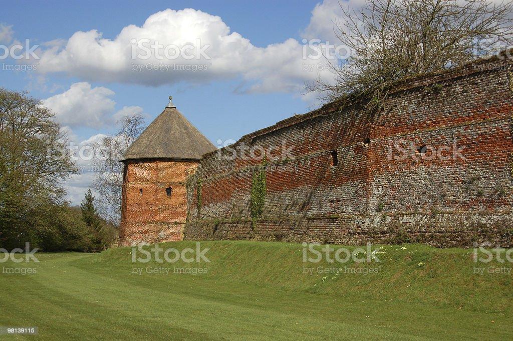 Basando House parete foto stock royalty-free