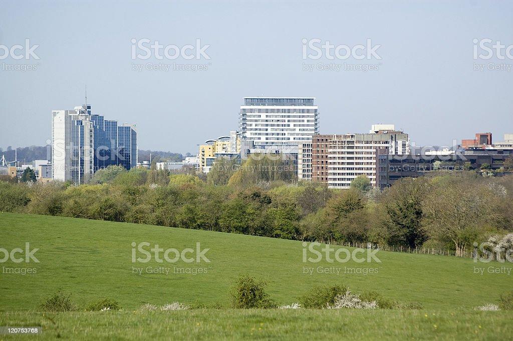 Basingstoke, Hampshire stock photo