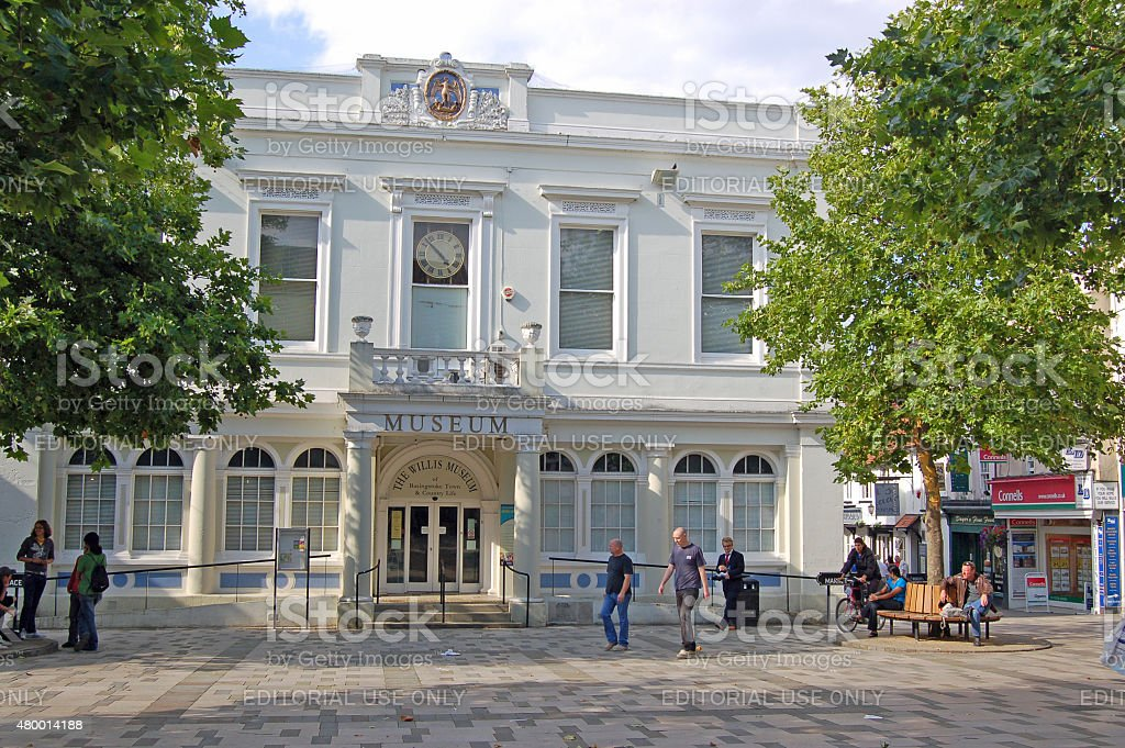 Basingstoke Museum and Marketplace stock photo