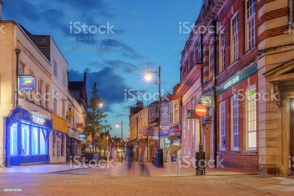 Basingstoke town centre stock photo