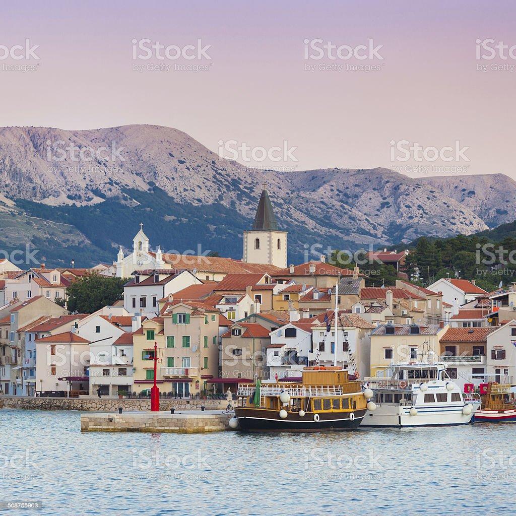 Baska, Insel Krk, Kroatien, Europa. – Foto