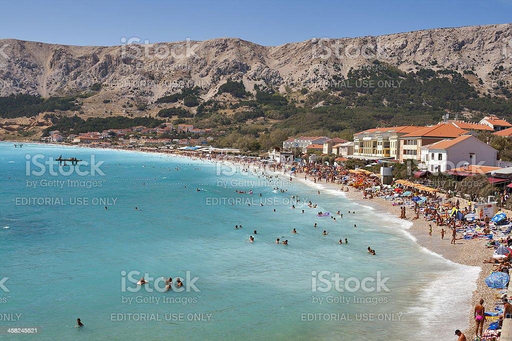Baska laguna, Kroatien. – Foto
