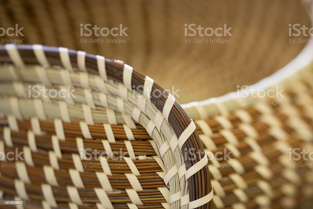 Basket 2 stock photo