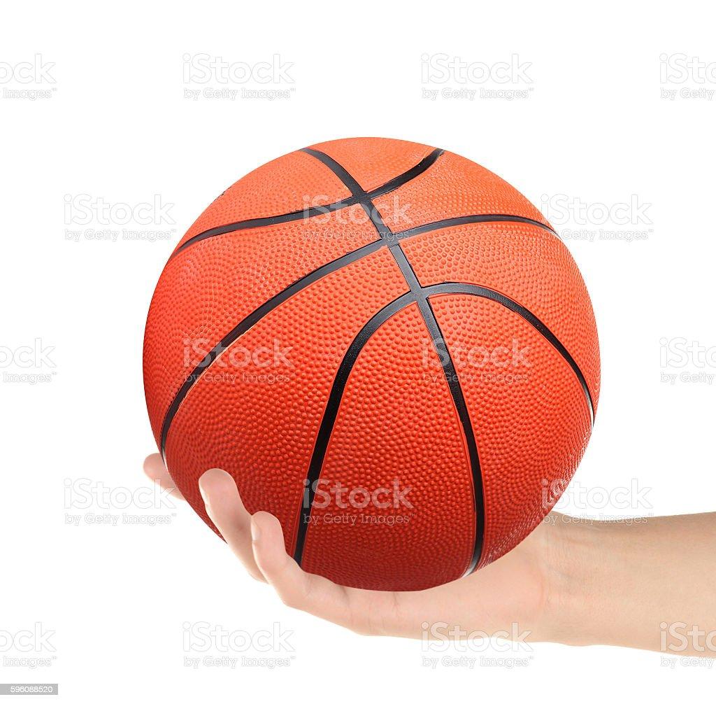 Basket Ball isolated royalty-free stock photo
