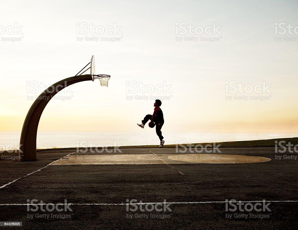 Basket Ball Net royalty-free stock photo