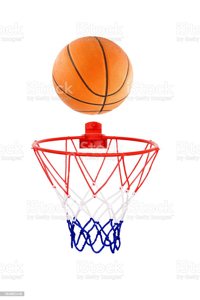 basket ball royalty-free stock photo