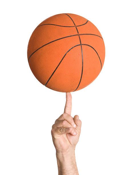 basket ball spinning - ronddraaien stockfoto's en -beelden
