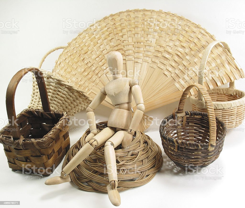 Basket Case stock photo