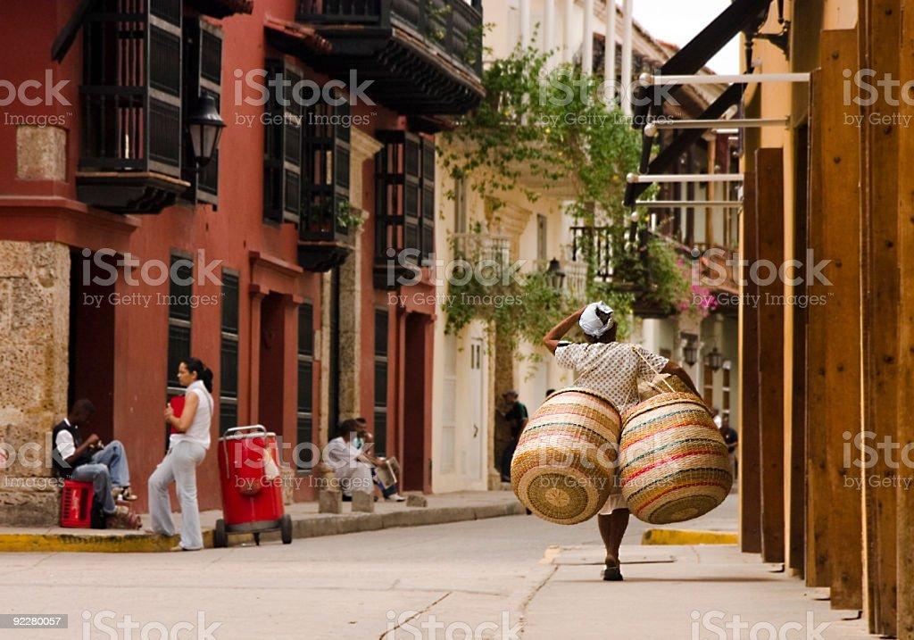 Basket Case stock photo
