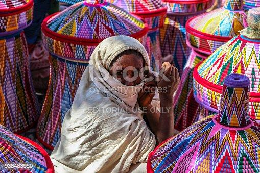 istock Basket market in Aksum, Ethiopia 938483950